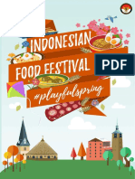 Indonesian Food Festival 2016