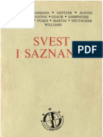 Aleksandar Pavković (priredio) - Svest i saznanje