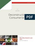 Deconstructing Consumerism