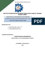 Informe de Proyecto Productivo Sala de Grabacion 2016-Final