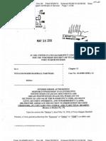 Debtor in Possession Financing Docs