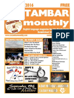 Costambar Monthly September 2016