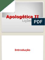 Apologetica II Aulas 7 e 8