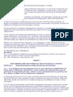 Reglamento de Poligonos de TIRO