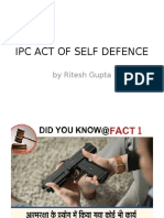 Ipc Act of Self Defence