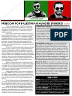 Free the Palestinian Hunger Strikers!