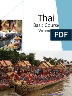 FSI Thai Basic Course Volume 2, Student Text