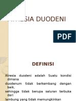 PPT atresia duodenum