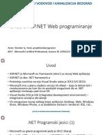 Uvod u ASP.NET + Progress 4GL - Prezentacija