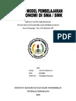 MODEL PEMBELAJARAN IPS EKONOMI DI SMK/SMA