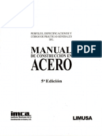 Manual de Construccion en Acero IMCA