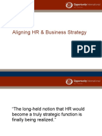 Aligning HR & Business Strategies