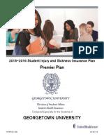 Georgetown Health Insurance Brochure