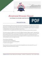 Bicentennial Economic Summit