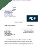 08-31-2016 ECF 1162 USA v A BUNDY et al - Joint Notice by USA Re Firearms Force Brandishing