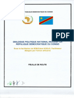 Feuille de route du dialogue politique national