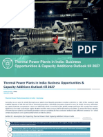 Thermal Power Plants in India Business Opportunities & Capacity Additions Outlook Till 2027