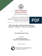 +ülbum Familiar de Bogot+í Descubriendo repertorios culturales a trav+®s de la fotograf+¡a