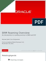 BRM Roaming Overview v1.0