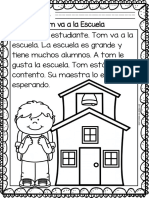 Easy Reading for Reading Comprehension in Spanish Free Set
