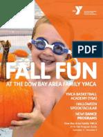 Dow Bay Area Family YMCA Fall Program Guide 2016