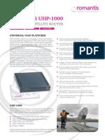 Romantis UHP 1000 Web