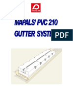 Pvc 210 Gutter System Manual