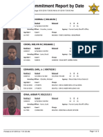 Peoria County Jail Booking Sheet for Sept. 1, 2016