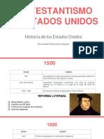 Unidad 2 Protestantismo en Estados Unidos - Ana Isabel Monsalve Zapata