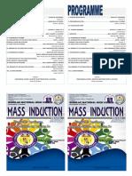 Mass Induction Program Invite