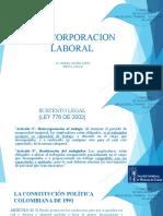 Reincorporacion Laboral - Hansel Castro