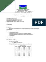 Relatório de Dilatação