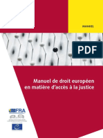 Fra Ecthr 2016 Handbook on Access to Justice Fr 0