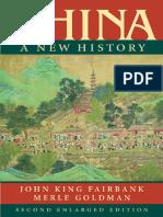 Fairbank Goldman CHINA-A New History