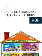 Parts of a House & Objects in the House