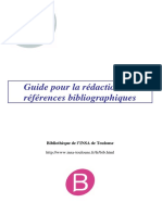 Guide Redaction Biblio
