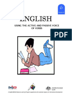 English 6 DLP 42 - Using the Active and Passive Voice of Verbs