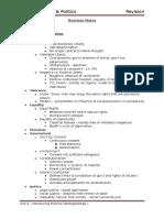 Political Ideologies (Unit 3B) EDEXCEL