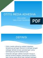 OTITIS MEDIA ADHESIVA.pptx