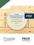 Priority health equity indicators for British Columbia