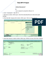 Tally Project PDF
