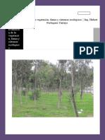 Inventario y Evaluación de La Vegetación en El Parque Nuestra Señora de Fátima de La Unidad Vecinal 3 de Mirones