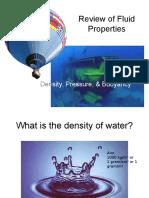 Review of Fluid Properties
