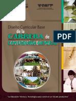 Malla Curricular Contaduría
