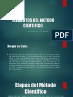 ELEMENTOS DEL METODO CIENTIFICO