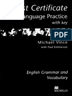 FCE Language Practice With Key 2003R
