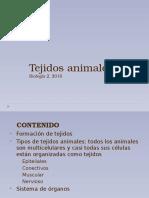 Practica No.1. Los Tejidos Animales