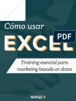 SPANISH Como Usar Excel Para Marketers