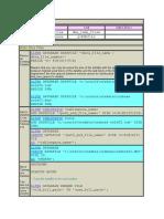 Datafile Commands