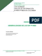 Modulo 1 Aspectos Generales NIIF Pymes
